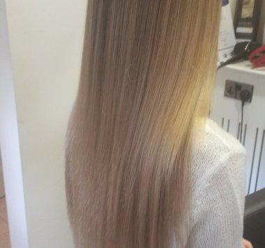 Kk hair hair extensions micro bead hair extensions mid process pmusecretfo Images